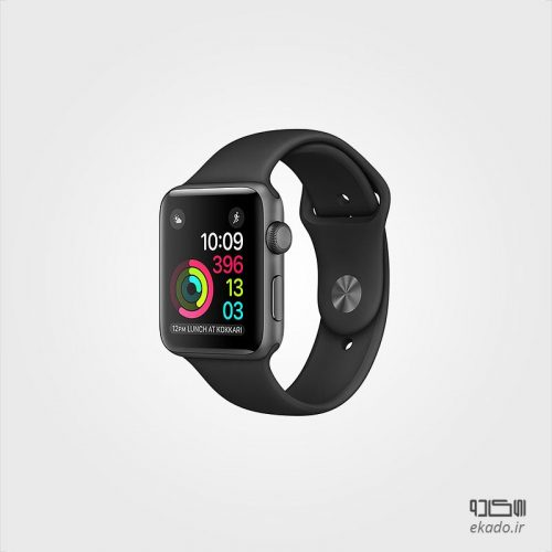 Series 2 Space Gray Aluminum Case with Black Sport Band